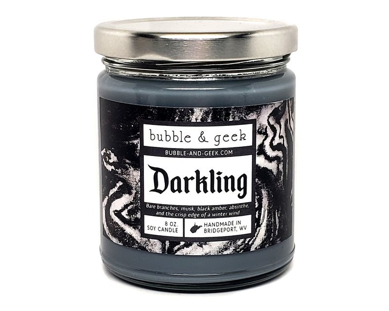 Darkling Scented Soy Candle Jar