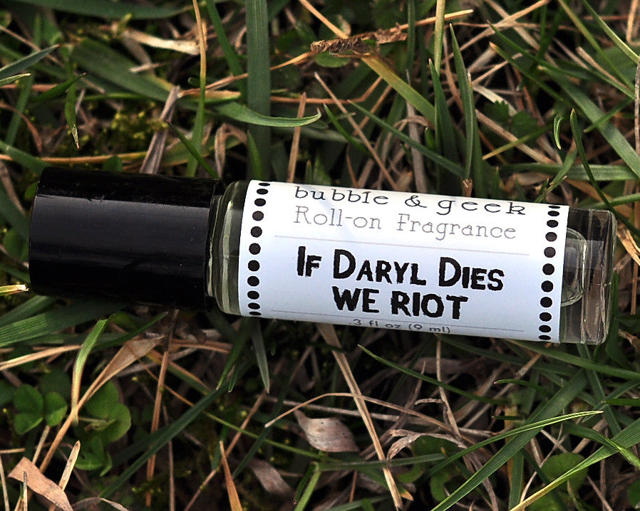 If Daryl Dies We Riot Scented Roll-on Fragrance