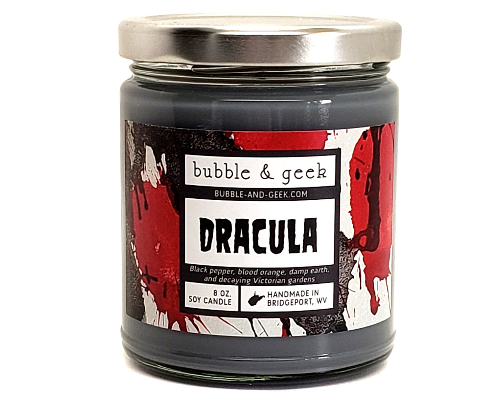 Dracula Scented Soy Candle Jar