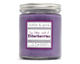 Your Father Smelt of Elderberries Scented Soy Candle Jar