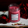 Enchanted Rose Scented Soy Candle Jar