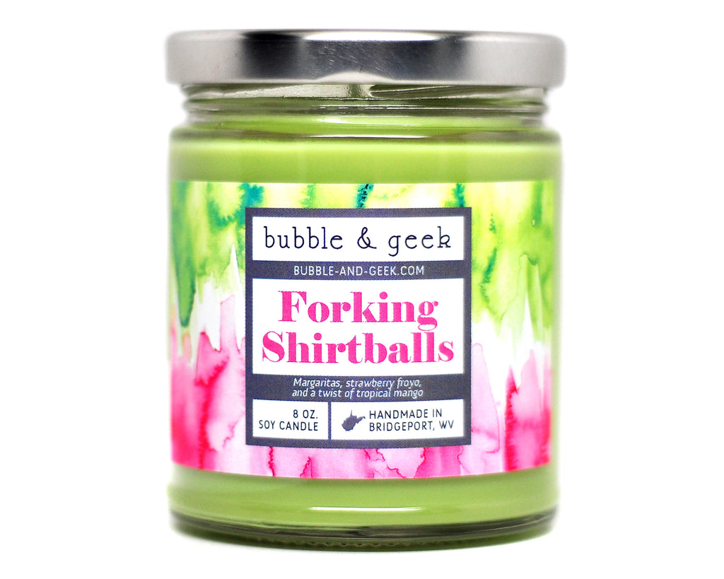 Forking Shirtballs Scented Soy Candle