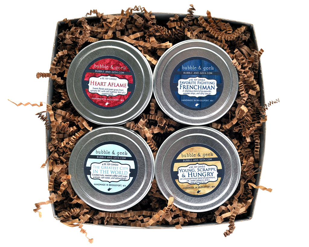1776 Candle Tin Gift Set