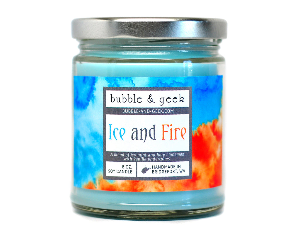 Ice and Fire Scented Soy Candle
