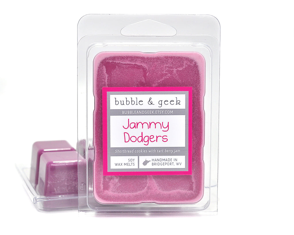 Jammy Dodgers Scented Soy Wax Melts