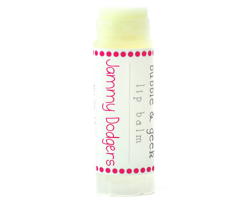 Jammy Dodgers Lip Balm