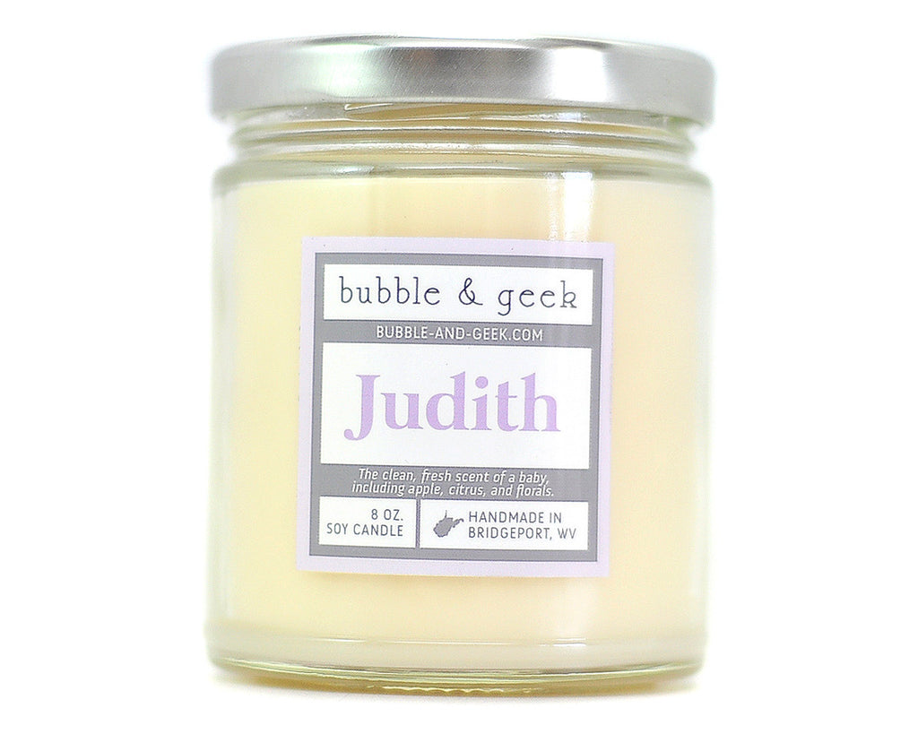 Judith Scented Soy Candle Jar