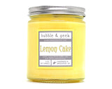 Lemon Cake Scented Soy Candle