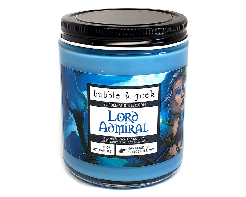 Lord Admiral Scented Soy Candle Jar