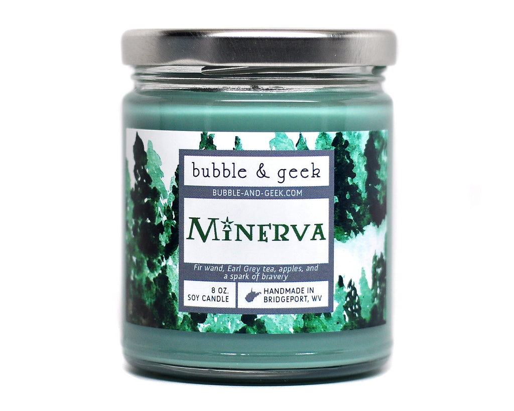 Minerva Scented Soy Candle Jar