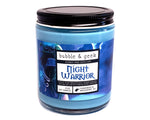 Night Warrior Scented Soy Candle Jar