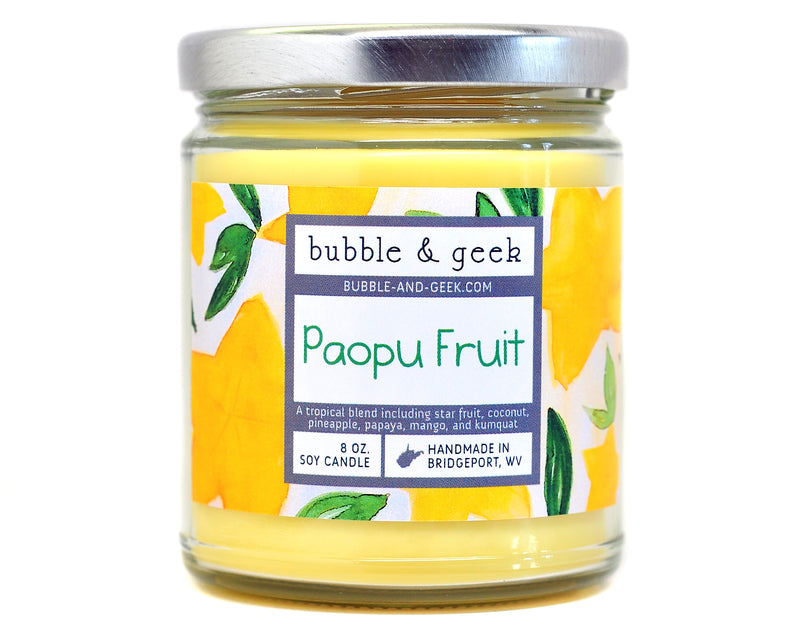 Paopu Fruit Scented Soy Candle Jar