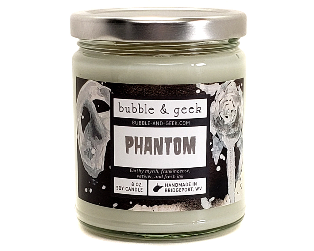 Phantom Scented Soy Candle Jar
