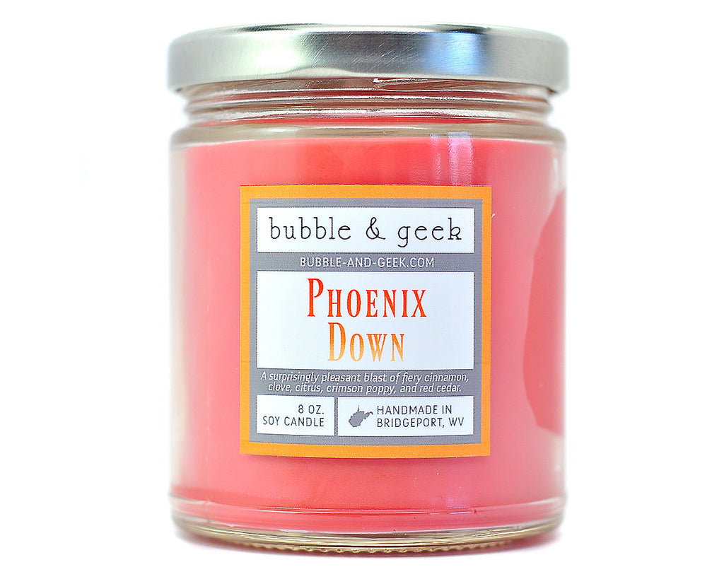 Phoenix Down Scented Soy Candle Jar