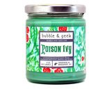 Poison Ivy Scented Soy Candle Jar