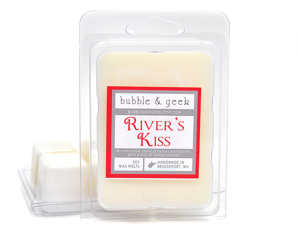 River's Kiss Scented Soy Wax Melts