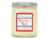 River's Kiss Scented Soy Candle Jar