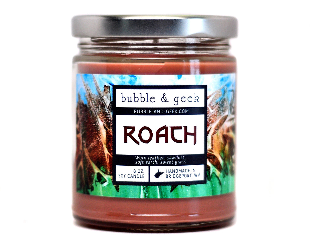 Roach Scented Soy Candle Jar