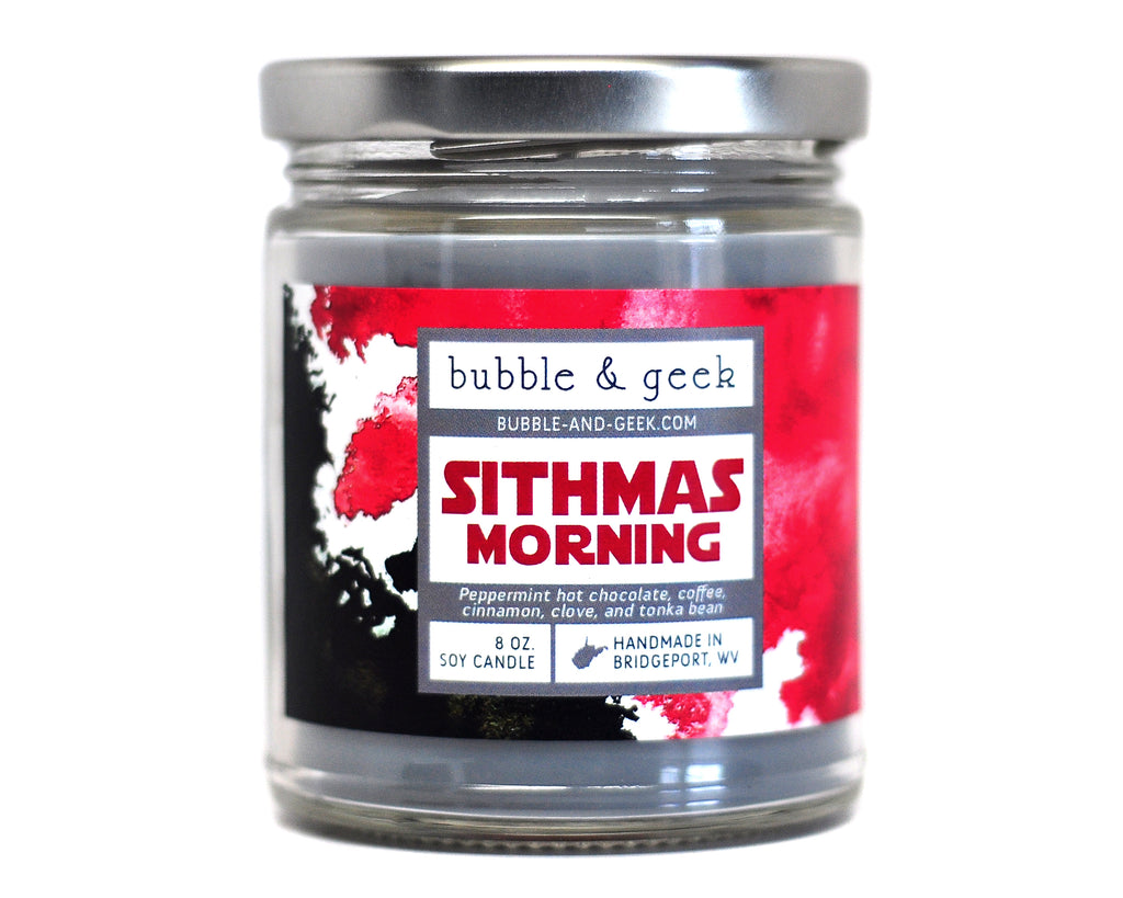 Sithmas Morning Scented Soy Candle Jar