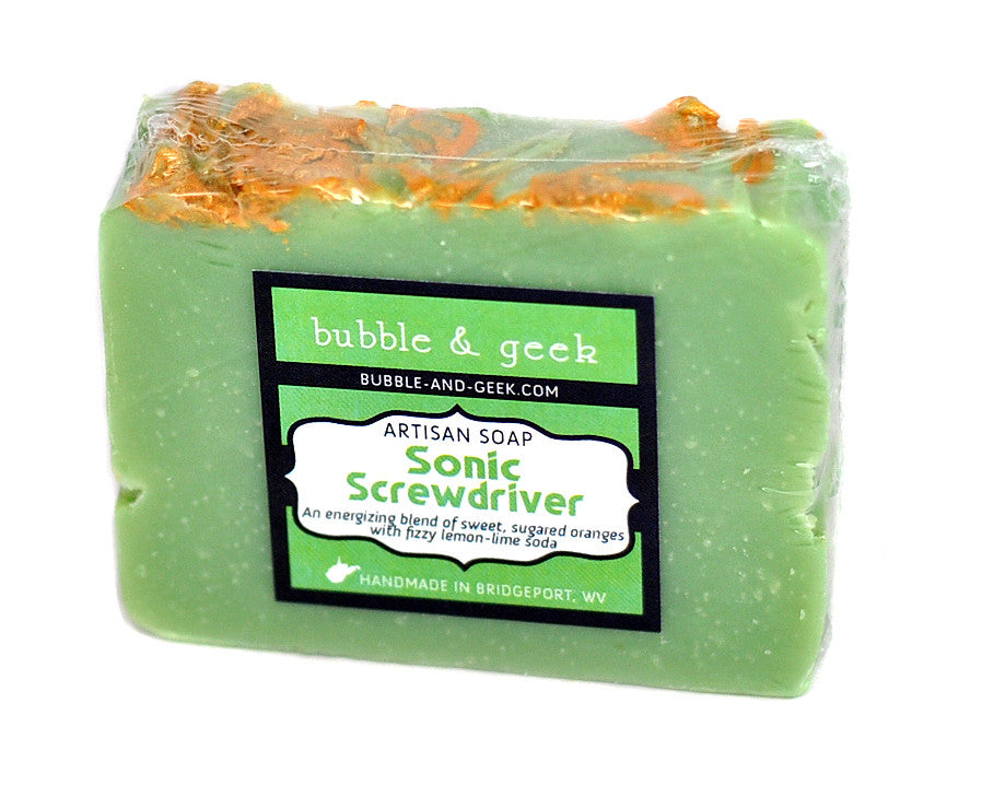Sonic Screwdriver Scented Soap