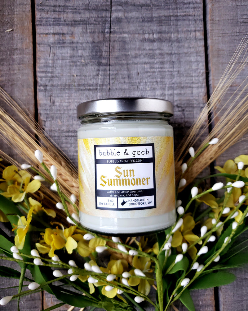 Sun Summoner Scented Soy Candle Jar