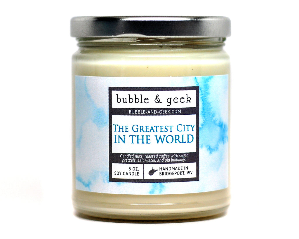 The Greatest City in the World Scented Soy Wax Melts