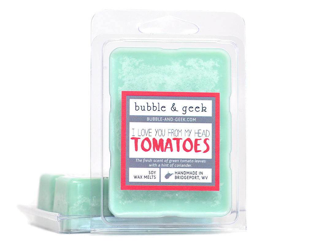 I Love You From My Head Tomatoes Scented Soy Wax Melts