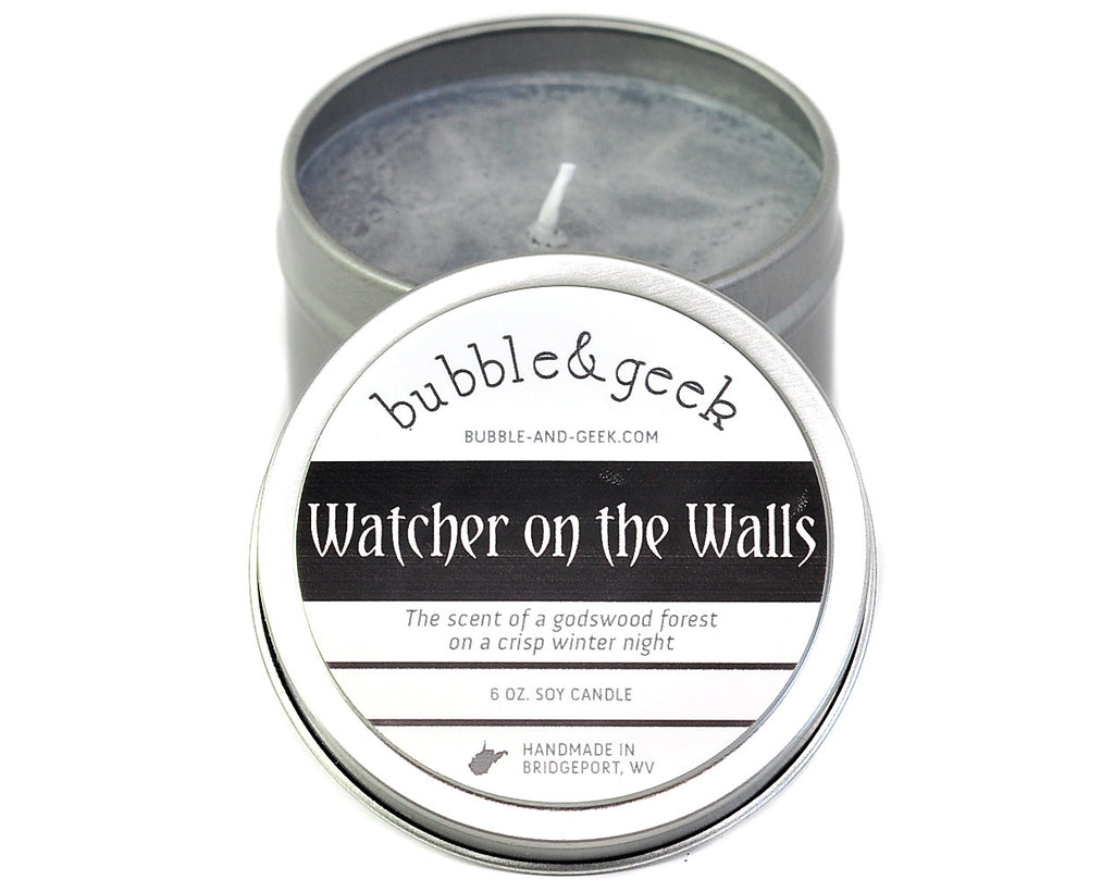 Watcher on the Walls Scented Soy Candle Tin