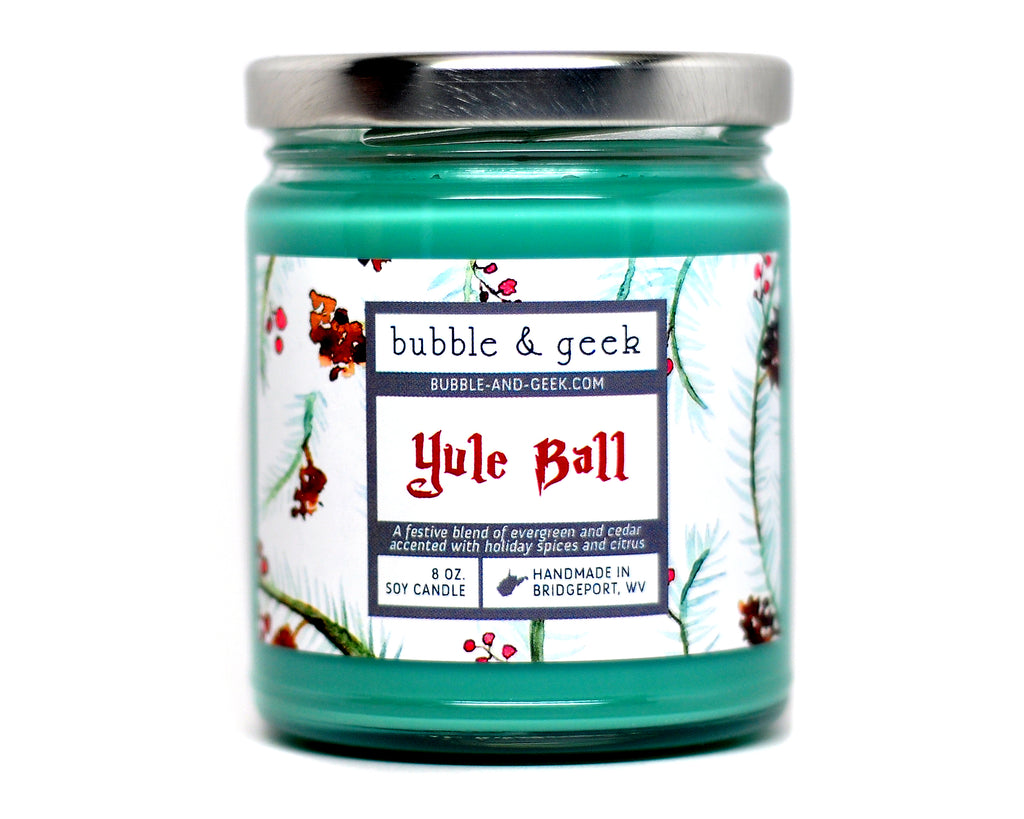 Yule Ball Scented Soy Candle Jar