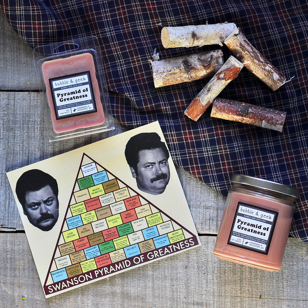 Pyramid of Greatness Scented Soy Wax Melts