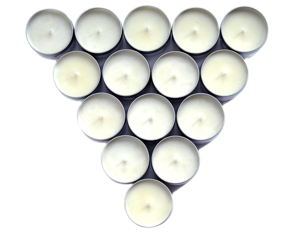 Bulk Quantity of Candle Tins for Wedding Favors, etc. – Bubble and Geek