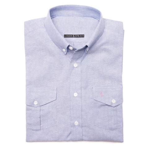 Light Blue LS Casual Shirt