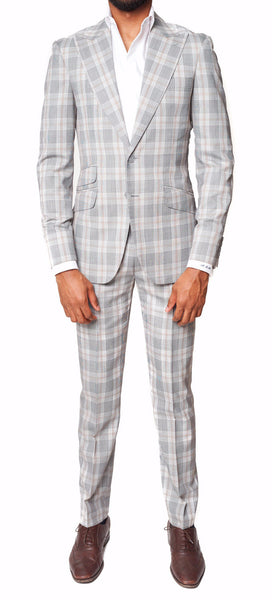 Grey Glen Plaid | LS Suit - Loren Spratt - 1