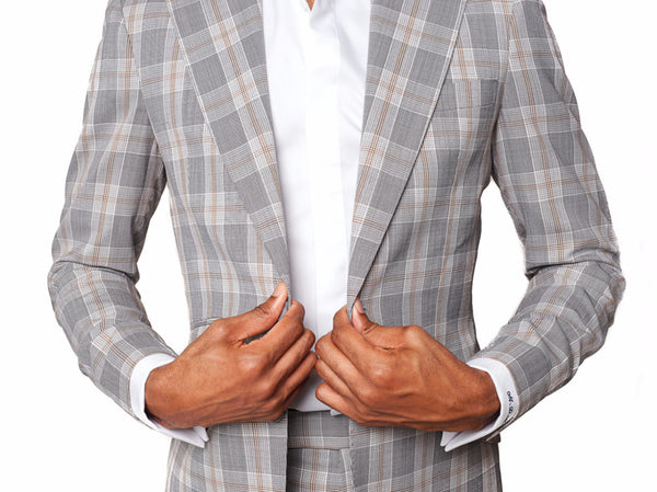 Grey Glen Plaid | LS Suit - Loren Spratt - 2