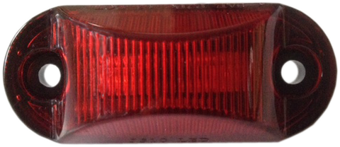 "J-510-R 2.5"" Oval LED 2 Diode (RED)"