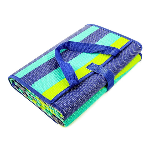 Handy Mat Blue/Turquoise/Green Stripes 60 x 78 (42806)