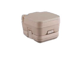 Tan Traveloo 2.5 Portable Toilet