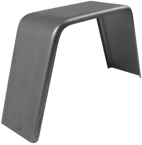 "Smooth Steel Flat Top Fender 34""L x 10""W x 17""H 16Ga"