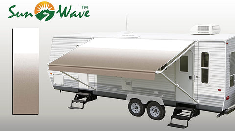 "SunWave Awning Fabric Camel Fade 20' (approximate Fabric Width 19' 2-3"")"