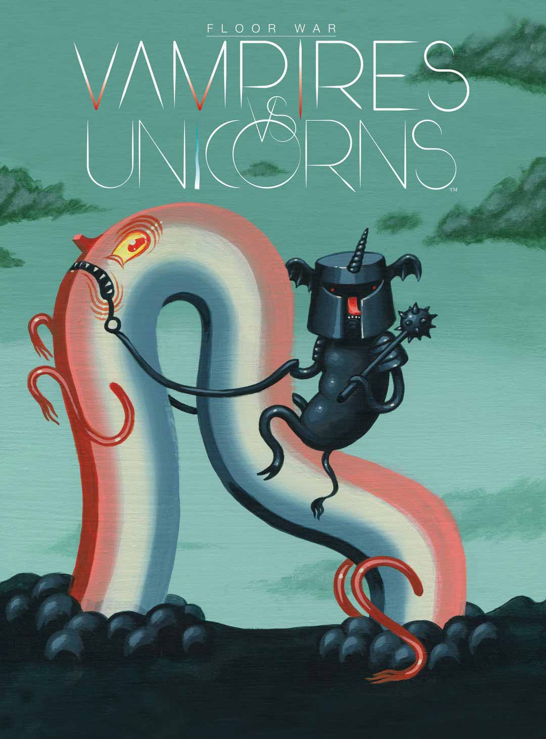 Vampires vs Unicorns Graphic