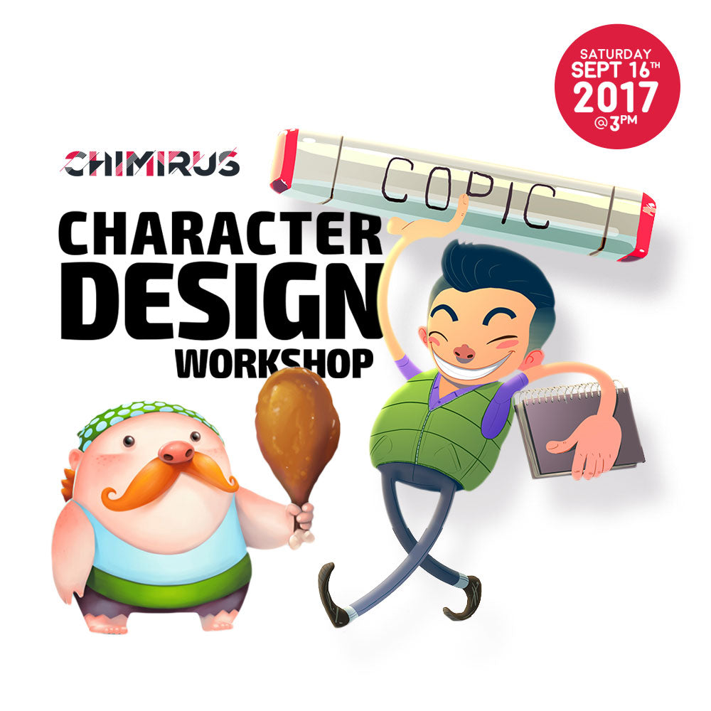 Chimirus Character Design Workshop at Rotofugi