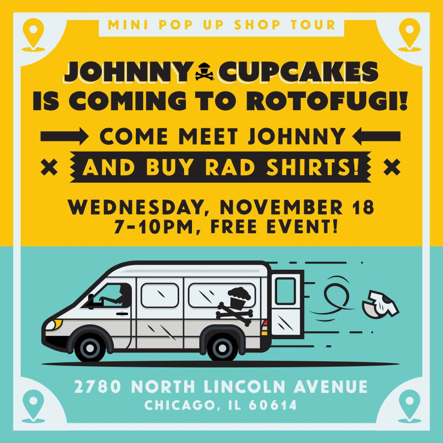 Johnny Cupakes Pop Up
