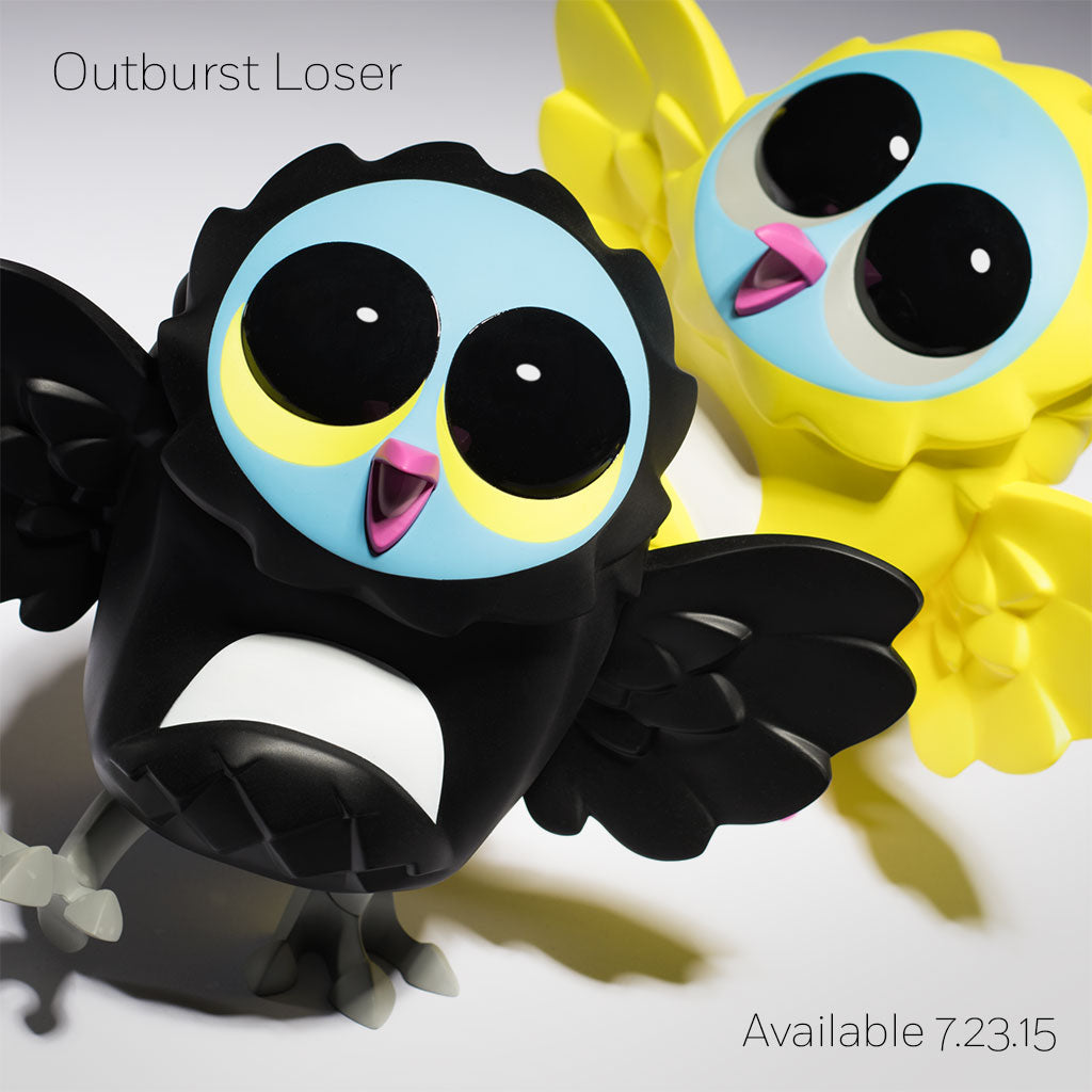 Outburst Loser Black and Lemon