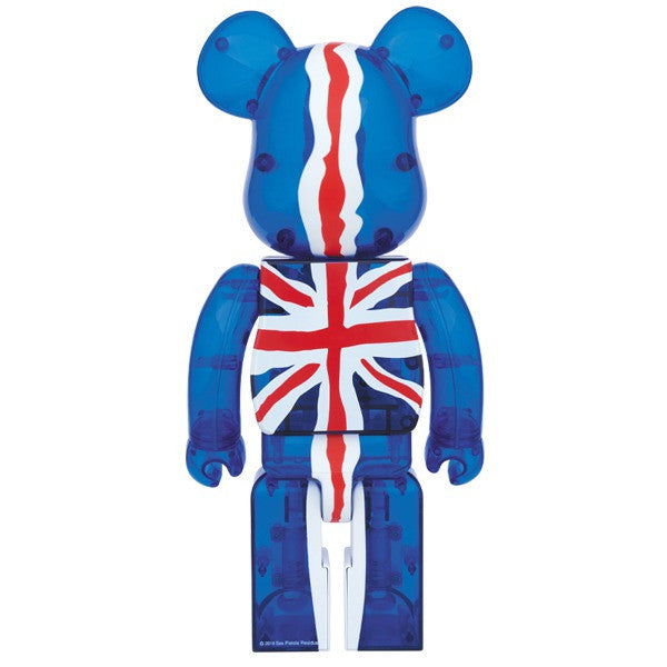 God Save the Queen Bearbrick (Clear) 400% + 100% Set Pre-Order