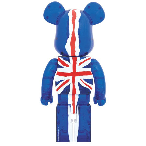 God Save the Queen Bearbrick (Clear) 1000% Pre-Order