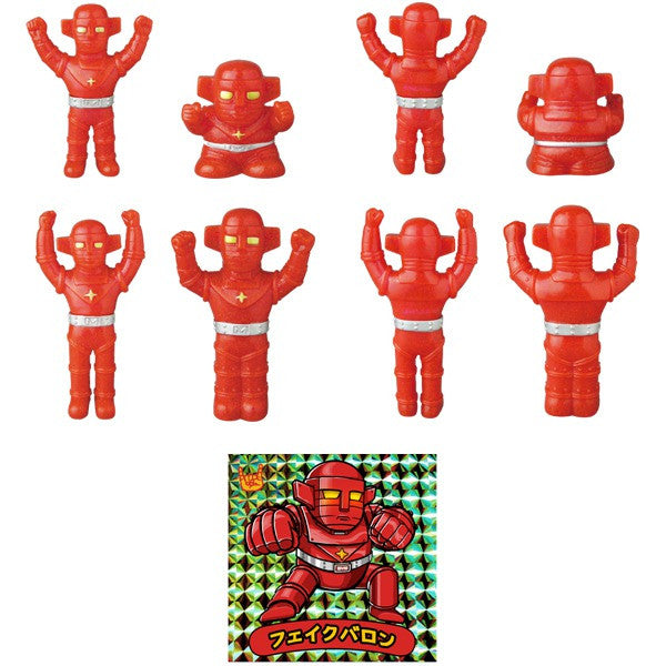 Fake Baron Mini Sofubi Set - Red Glitter Pre-Order