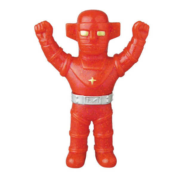 Fake Baron Mini Sofubi - Red Glitter Pre-Order