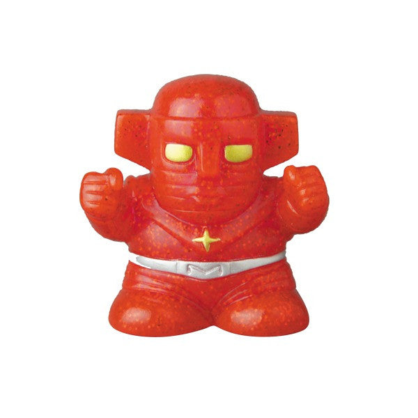 Fake Baron Mini Finger Puppet Sofubi - Red Glitter Pre-Order