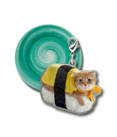 Sushi Cat Enamel Metal Series 2 - Random Assortment
