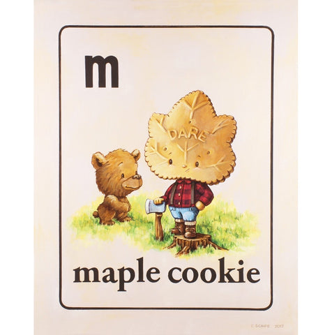 Maple Cookie (From Canada with Love) by Cindy Scaife